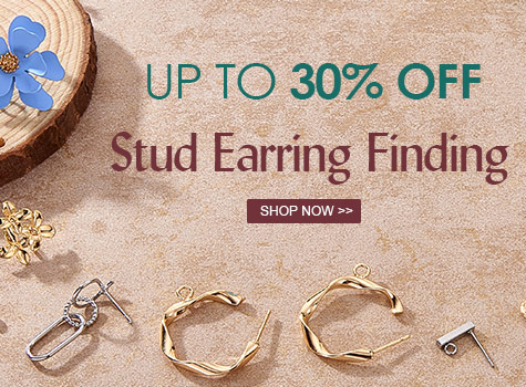 Up to 30% OFF Stud Earring Finding