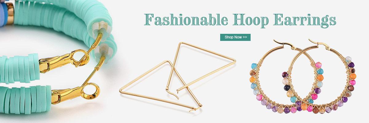 Fashionable Hoop Earrings