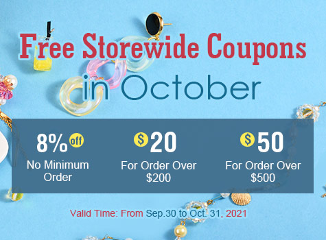 Kbeads Free storewide coupons