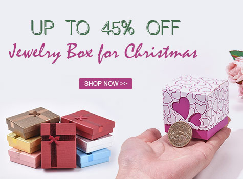 Up to 45% OFF Jewelry Box for Christmas