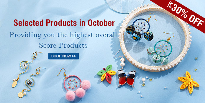 Kbeads Selected Products in Oct.