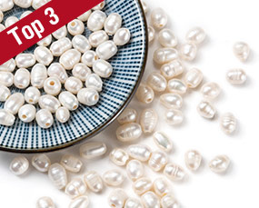 Large Hole Pearl Beads