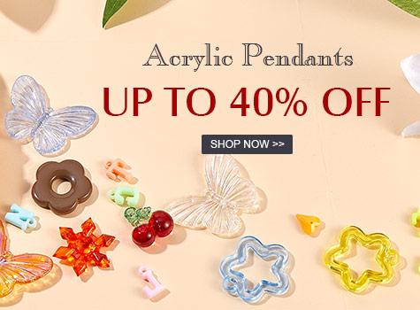 Up to 40% OFF Acrylic Pendants