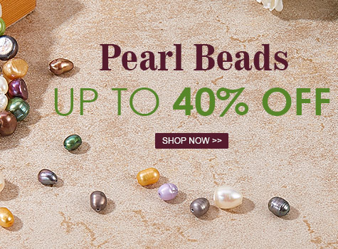 Up to 40% OFF Pearl Beads